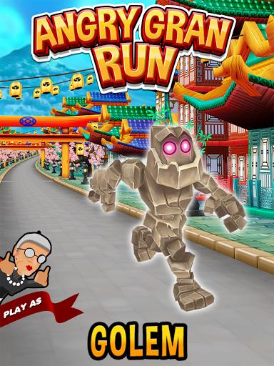 Angry Gran Run - Running Game apktram screenshots 8