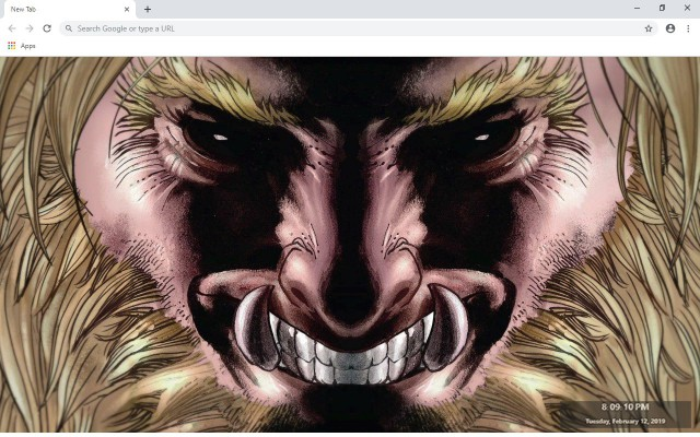 Sabretooth New Tab & Wallpapers Collection