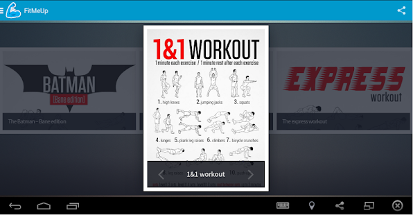 FitMeUp your strength system- screenshot thumbnail