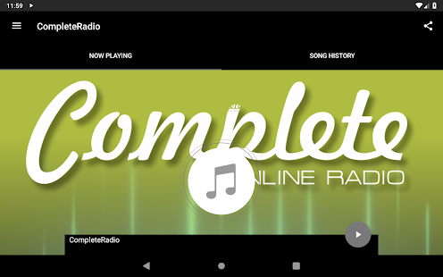 CompleteRadio for PC-Windows 7,8,10 and Mac apk screenshot 3