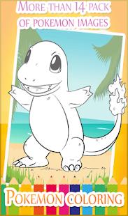 Pokem coloring Pages for kids ? - náhled