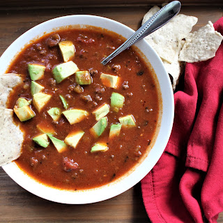 Easy Paleo Beef Chili.