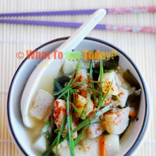 Daikon Vegetable Soup Recipes