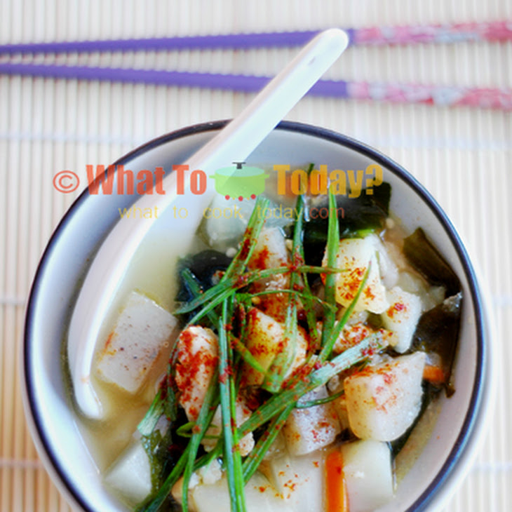 TONJIRU/ PORK and VEGETABLE MISO SOUP Recipe