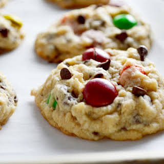 5 step Peanut Butter Monster Cookies.