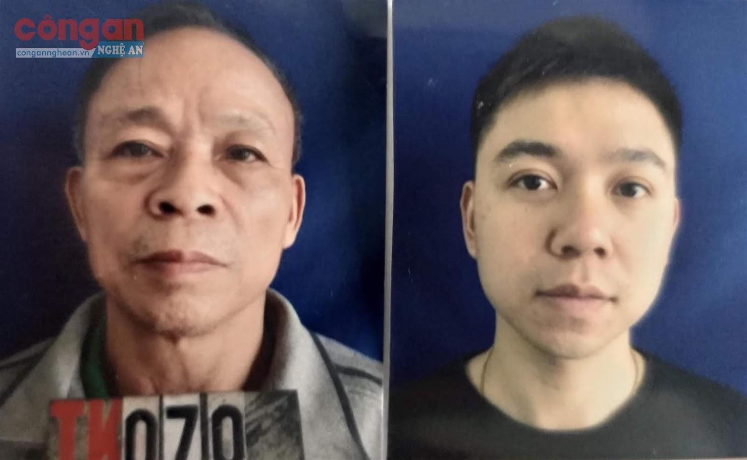 2 đối tượng Nguyễn Văn Quyền và Nguyễn Xuân Lãn