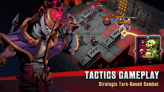 Grimguard Tactics: End of Legends Mod Apk (Unlimited Money) 0.1.7 2