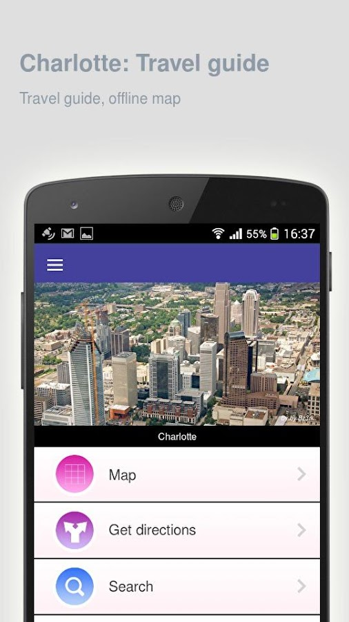 Charlotte Travel Guide Charlotte: Travel guide- screenshot