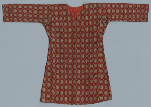 Female Robe with Floral Deisgn