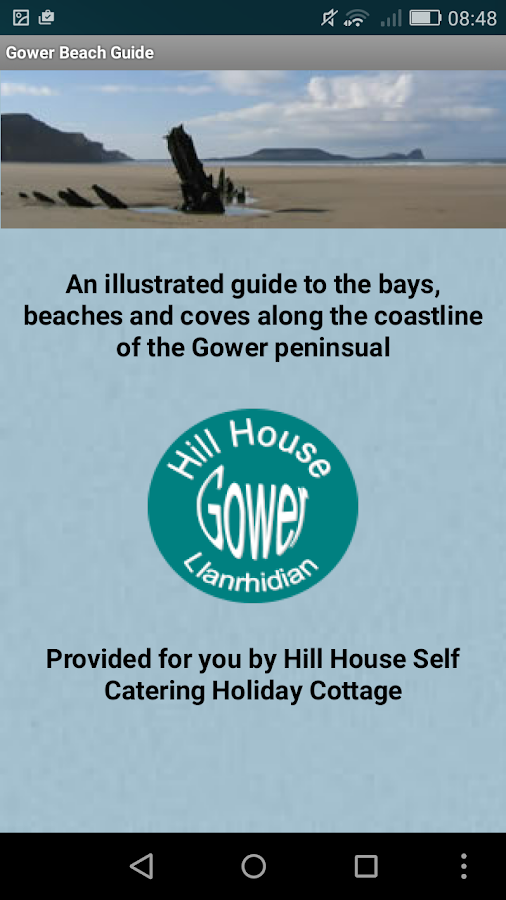 Gower Beach Guide- screenshot