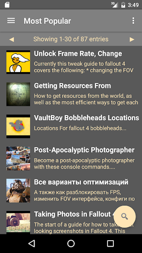 Guides: Fallout 4