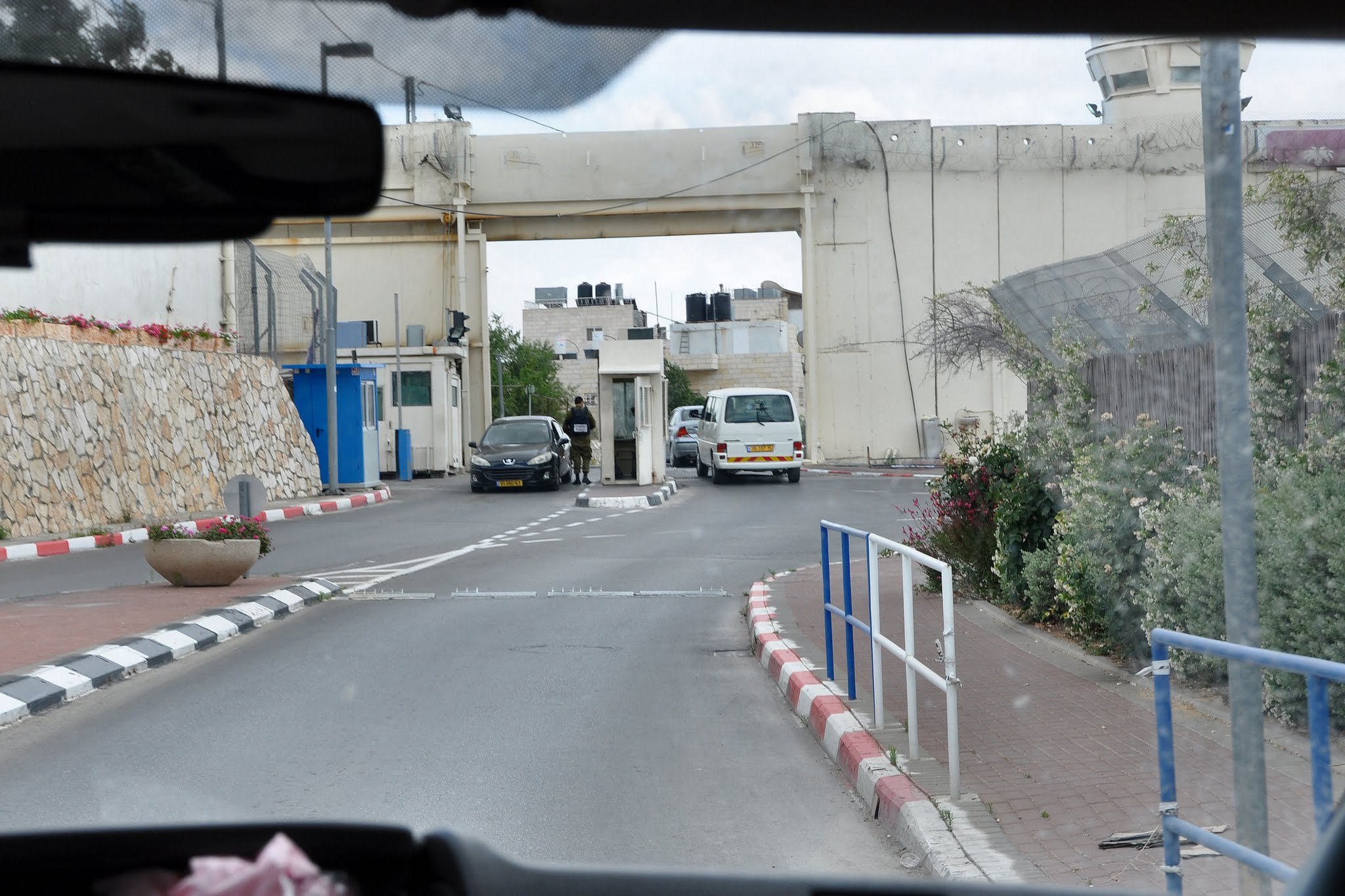Photo: The entrance to Bethlehem