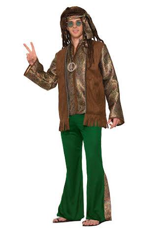 Dräkt, hippie fred XL