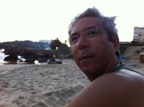 Photo: End of the day in a Dakar beach