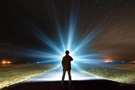 Flashlight Brightest LED TOP - náhled