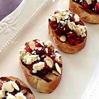Cherry Hot Pepper Bruschetta