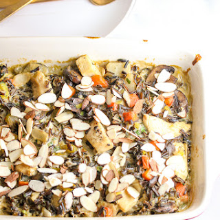 Make Ahead Chicken Wild Rice Casserole.