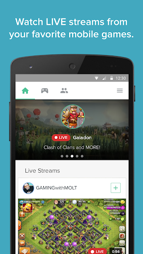 Kamcord- Live Mobile Game Vids