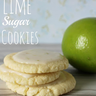 Lime Cookies.