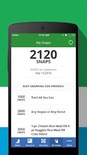 FamilyMart : Snap App - náhled