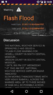 MyRadar Weather Radar Screenshot