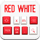 Red White Keyboard