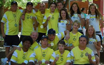 Photo: Alla medaljörer och ledare