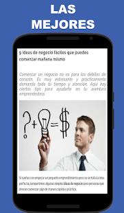 Ideas de Negocios - náhled
