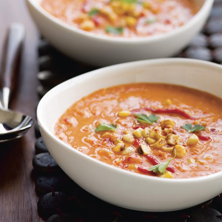 Fire-Roasted Corn Chowder Recipe