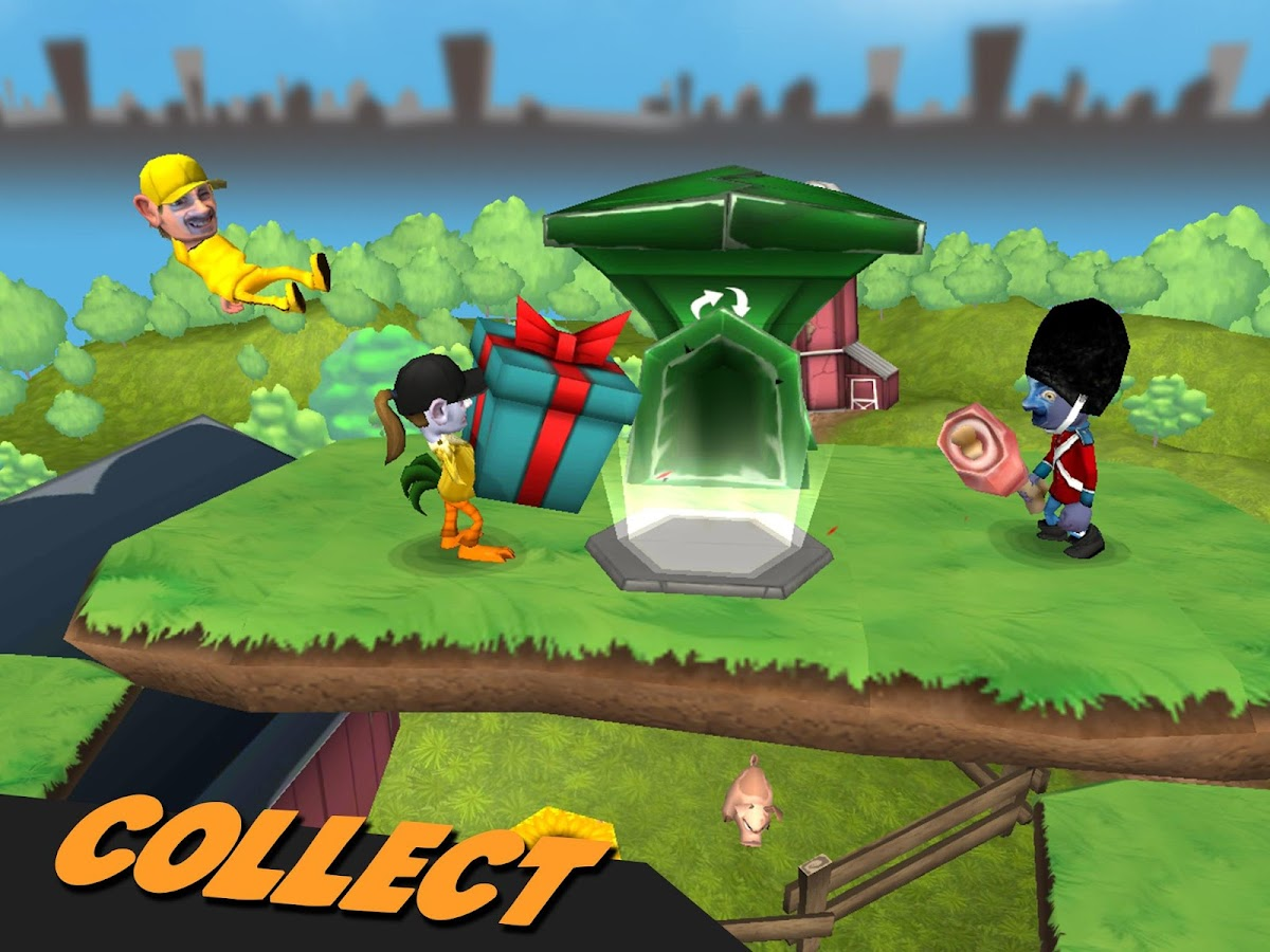 Scrappers: Multiplayer Battle- screenshot