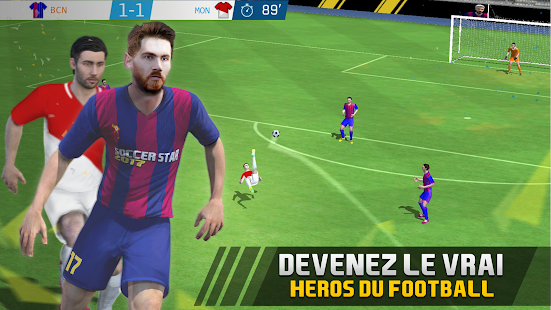 Soccer Star 2019 Top Leagues · Jeux de football Capture d'écran
