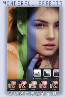 Photo effects, Selfie, Editor - screenshot