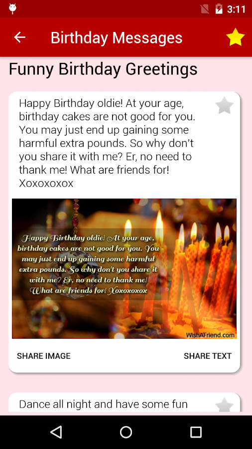 Birthday Cards Messages Wish Friends Family Android Apps – Good Birthday Cards for Friends