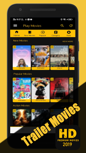 Screenshot for New Movies 2019 - HD Movies in United States Play Store