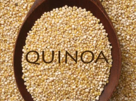 Cook quinoa. My brand called for two cups water for one cup quinoa. You...