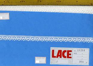 Photo: №44204-00トーション白:巾15mm (20m~¥76/m)