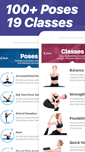Yoga - Poses & Classes Screenshot