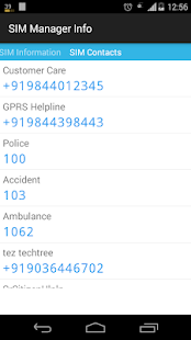 SIM Card Manager Details screenshot