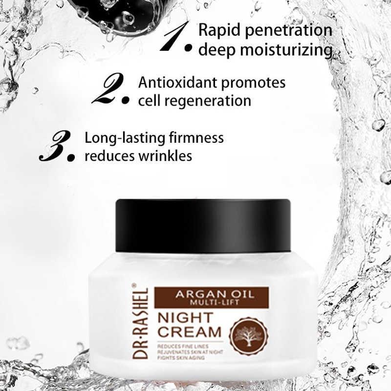 DR.RASHEL Argan Oil Multi-Lift Day & Night Cream Natural Amino Acid 50g |  eBay