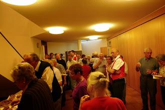 Photo: Grosser Andrang am Buffet