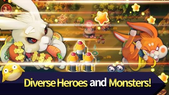 Hero Defense King MOD (Unlimited Gems) 2
