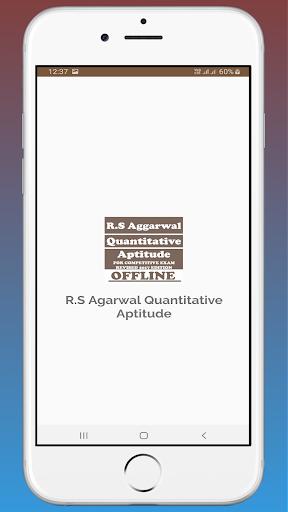 RS Aggarwal Quantitative Aptitude OFFLINE 1.4 screenshots 1
