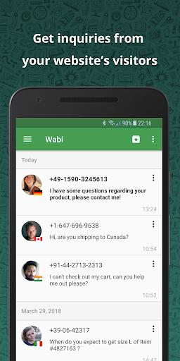 Wabi - Virtual Number for WhatsApp Business 1.8.8 screenshots 5