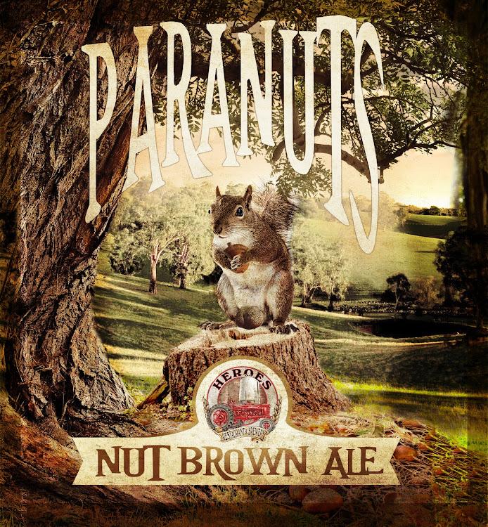 Logo of Heroes Paranuts Brown Ale