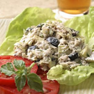Artichoke & Ripe Olive Tuna Salad