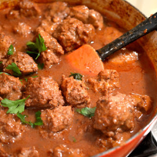 Braised Savory Meatballs
