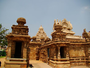 Photo: #019-Kanchipuram, le temple de Kailashanatha