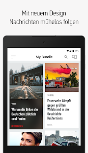 Bundle News - Nachrichten App. Screenshot