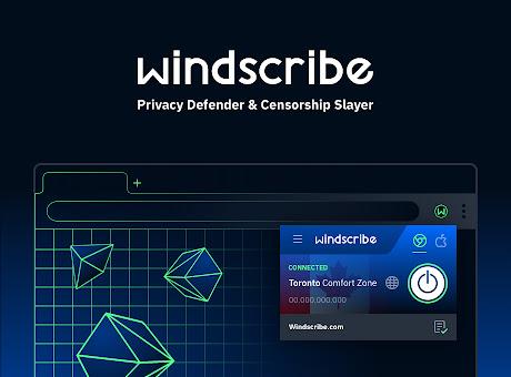 Windscribe - Free Proxy and Ad Blocker