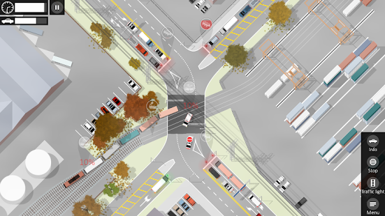 Intersection Controller Screenshot